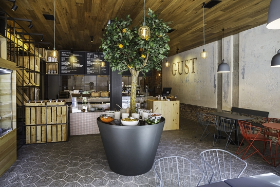 Restaurante Gust . Madrid . Madrid . España