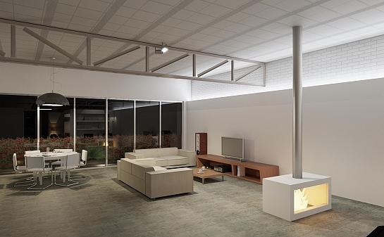 Vivienda loft sobre local comercial - Proyecto local comercial ...