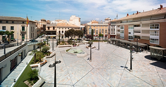 Plaza de la Balsa Vieja . Totana . Murcia . España