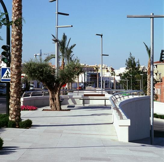 Remodelación de la N-340 a su paso por Totana . Totana . Murcia . España