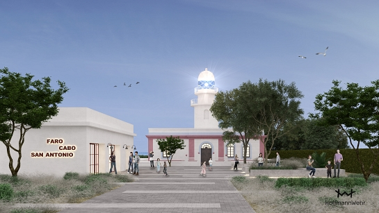 Habilitación del Faro del Cabo de Sant Antonio . Jávea . Alacant . España