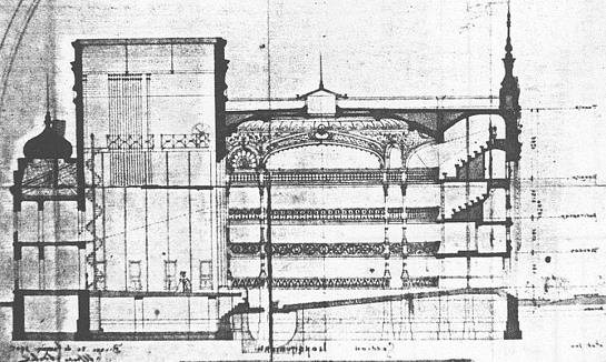 Rehabilitación y ampliación del Teatro Campos Elíseos . Bilbao . Vizcaya . España