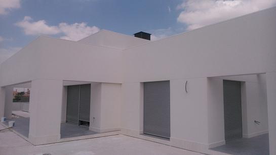 Vivienda unifamiliar y piscina . Molina de Segura . Murcia . España