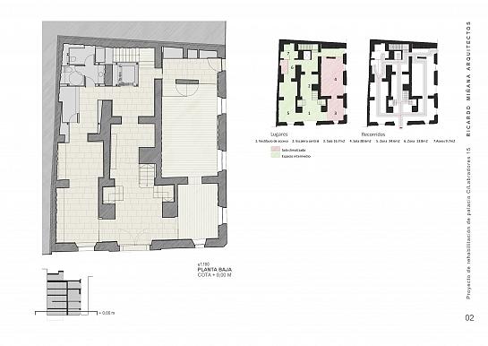 Rehabilitación Palacio del Portalet . Alicante . Alacant . España