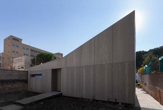 Vivienda industrializada en Burjassot . Valencia . València . España