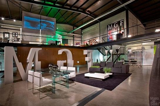 Proyecto de interiorismo Showroom MGF. Alaquás. Valencia . Alaquàs . València . España