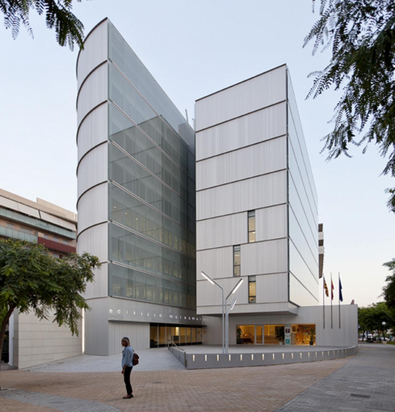 Vida del proyecto edificio de oficinas marsamar en alicante - Edificio de oficinas ...