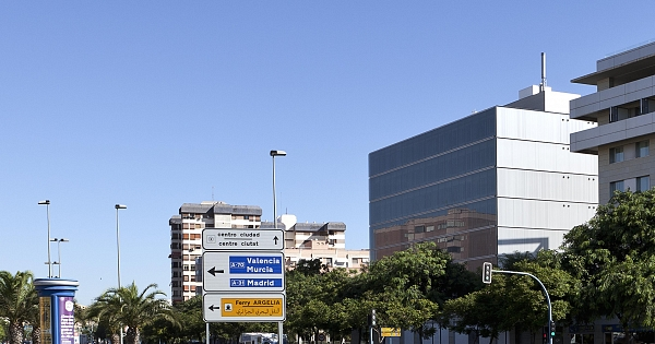 Edificio de oficinas marsamar en alicante for Oficinas cajamar alicante