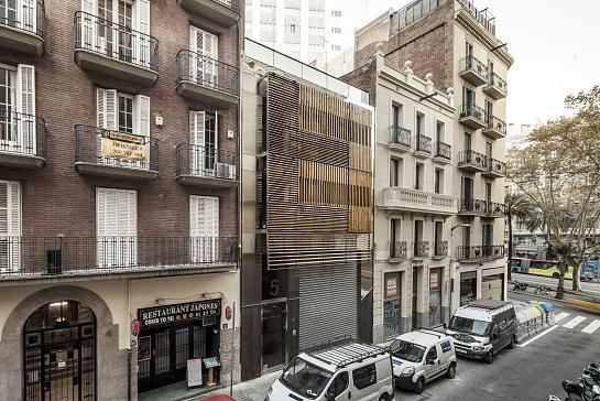 Edificio de viviendas en Barcelona . Barcelona . Barcelona . España