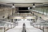 Tres estaciones de la Línea 9 del Metro de Barcelona