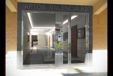 Reforma de zaguán en edificio plurifamiliar . Benidorm . Alacant . España . 2013