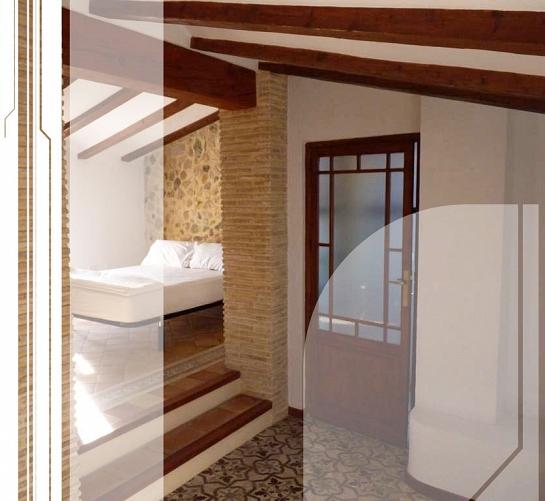 Rehabilitación vivienda casco antiguo . Altea la Vieja . Alacant . España