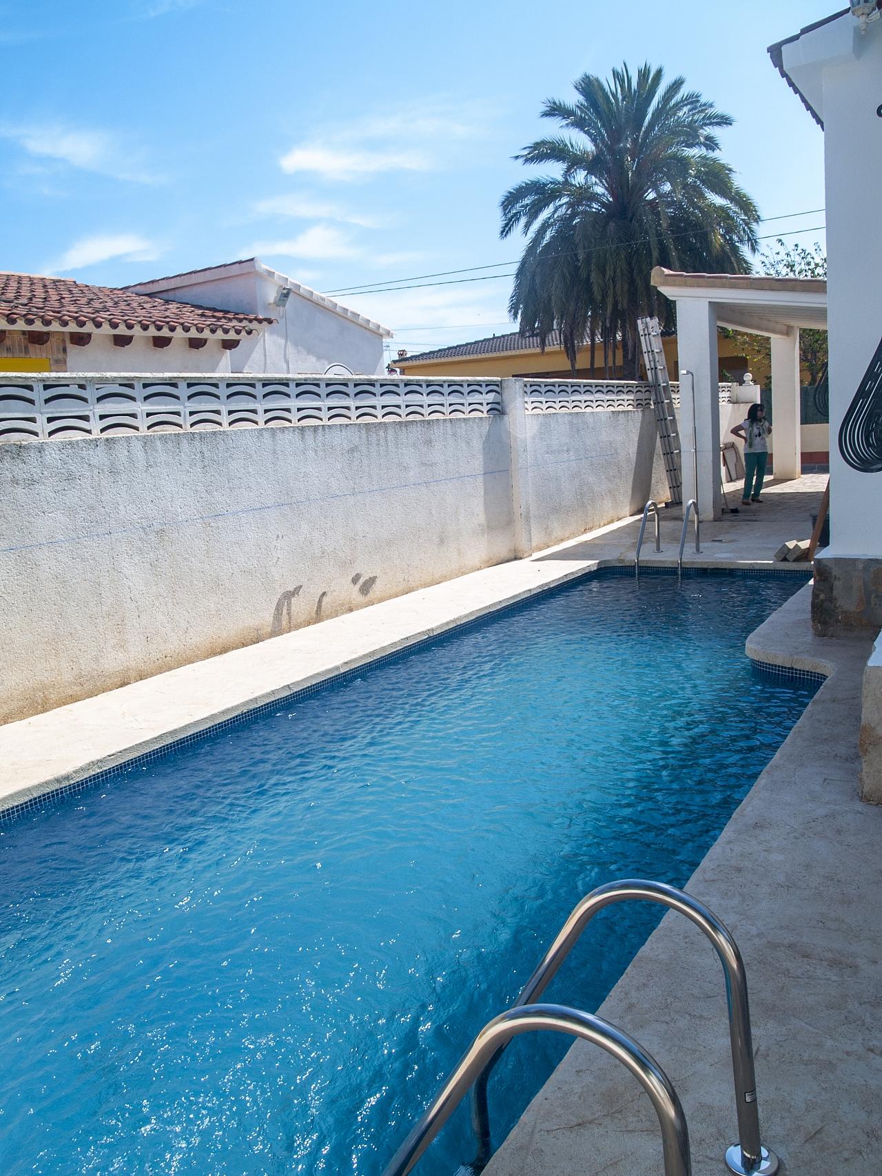 vida del proyecto piscina privada els poblets