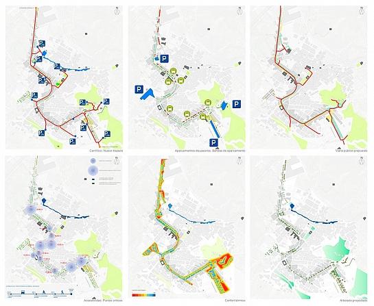 Plan Estratégico de Intervención en la Travesía Urbana de Pliego . Pliego . Murcia . España