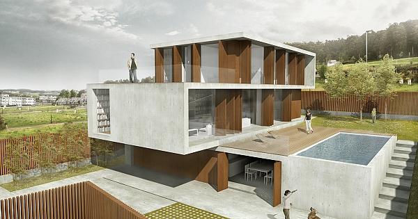 Vivienda en punta canide galicia - Necesito un arquitecto ...