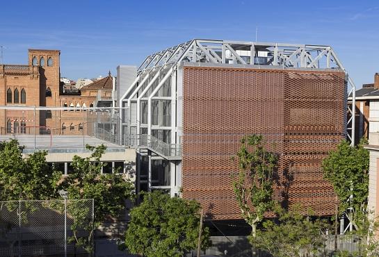 Ampliación Colegio Teresianas de Barcelona . Barcelona . Barcelona . España