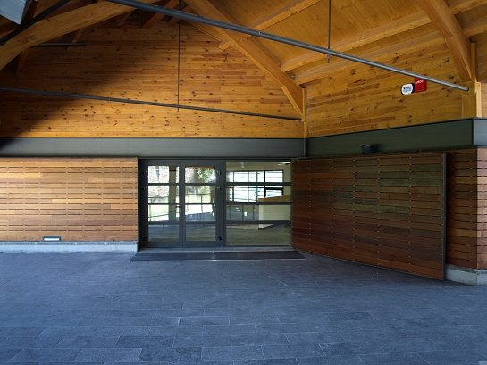 Centro de visitantes de Torla . Huesca . España