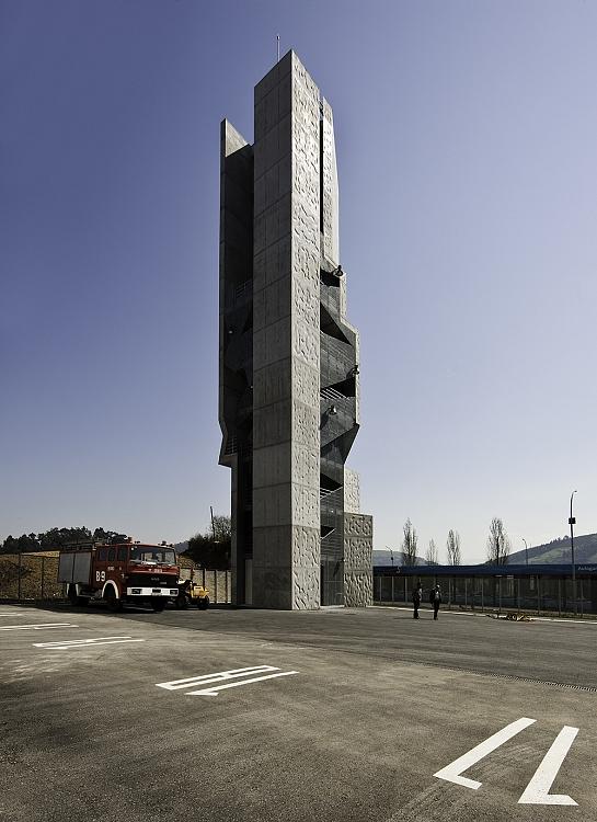 Torre Texturada . Bilbao . Vizcaya . España