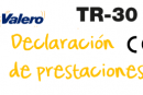 Declaración de prestaciones TR-30