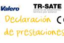 Declaración de prestaciones TR-SATE