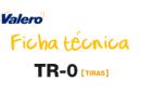 Ficha técnica TR-0 Tiras