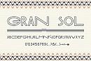 Tipografía Gran Sol Thin
