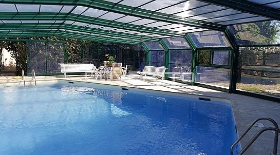 Cubierta de piscina en cristal cubiertas - Cubierta de cristal ...