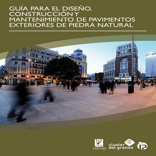 Guía para el diseño, construcción y mantenimiento de pavimentos exteriores de piedra natural