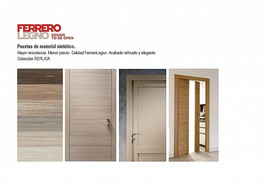 FerreroLegno - Puertas de material sintético