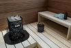 Calefactores de piedra vista