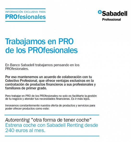 Sabadell Renting Auto
