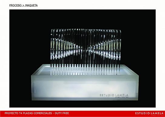 Prototipo luminoso esculturas para la T4