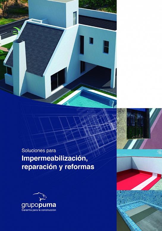 Soluciones Grupo Puma para impermeabilización, reparación y reformas.