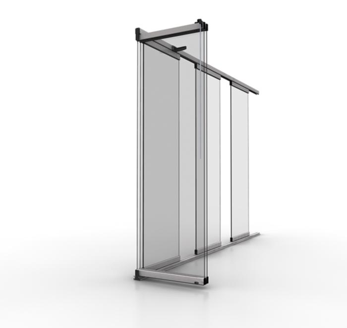 Cerramientos deslizantes de vidrio estructura for Cerramientos de vidrio para interiores