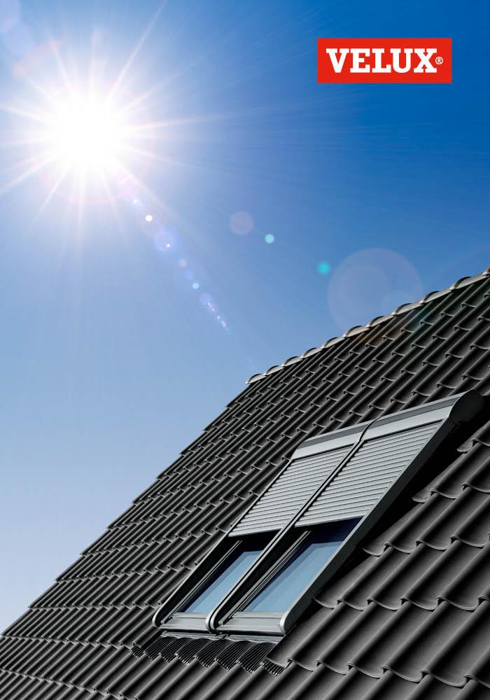 Cat logo de productos persiana solar velux cat logo de for Persiana avvolgibile velux