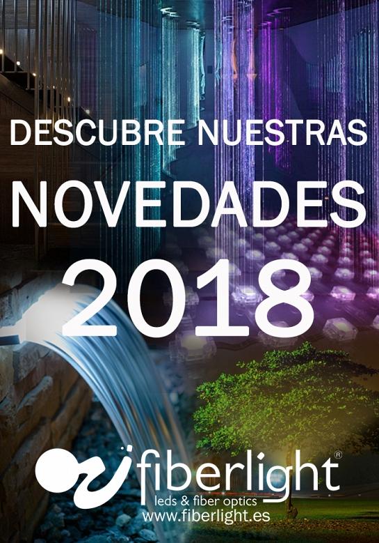 Catálogo de productos Fiberlight novedades 2018