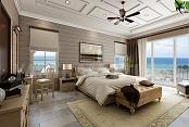 Ideas interiores del diseño de la habitación de la playa para su inspiración