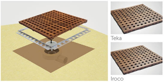 Dry50 Wood Flat 20 Teka