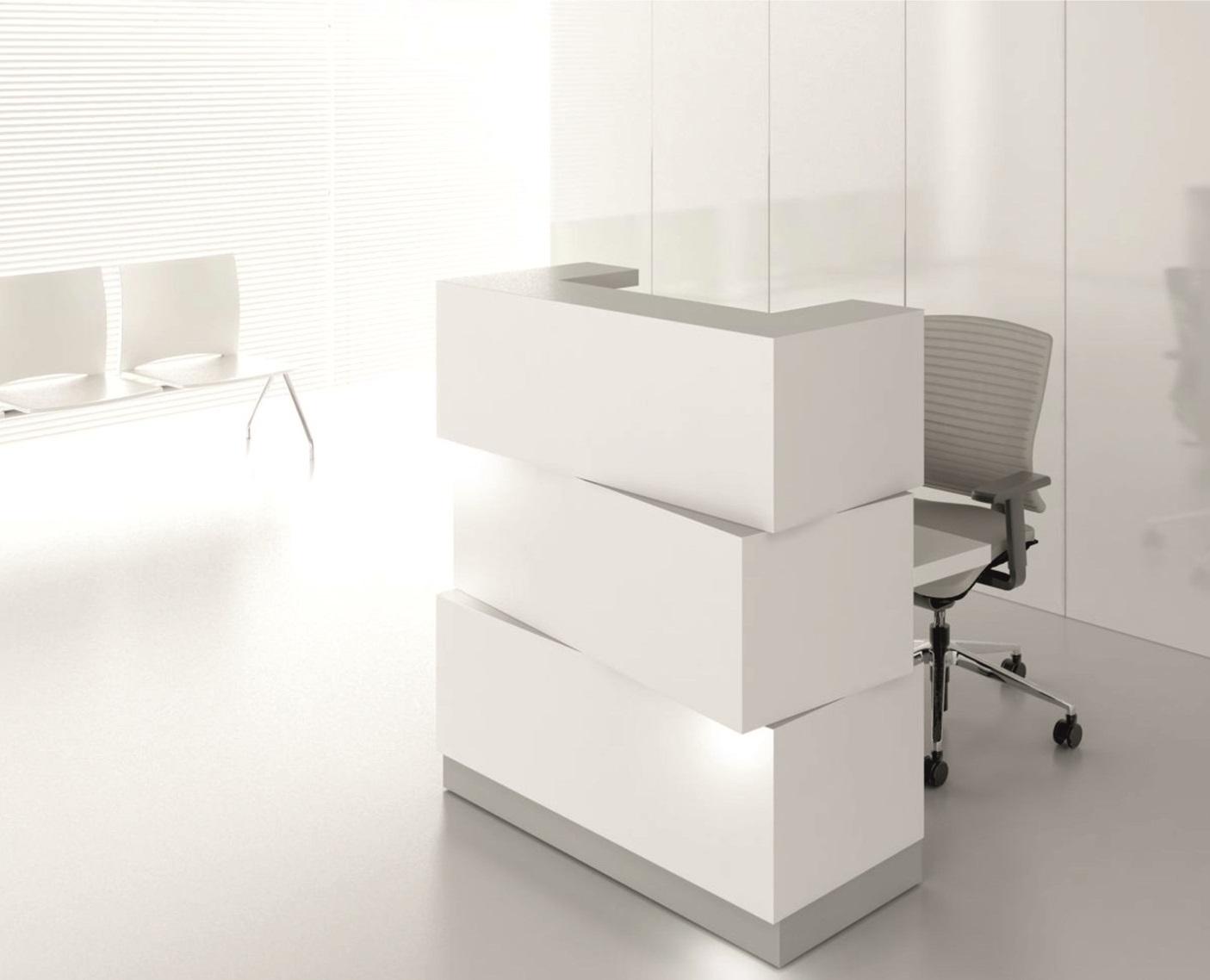 Mostrador zen mostradores de recepci n for Muebles de oficina palencia