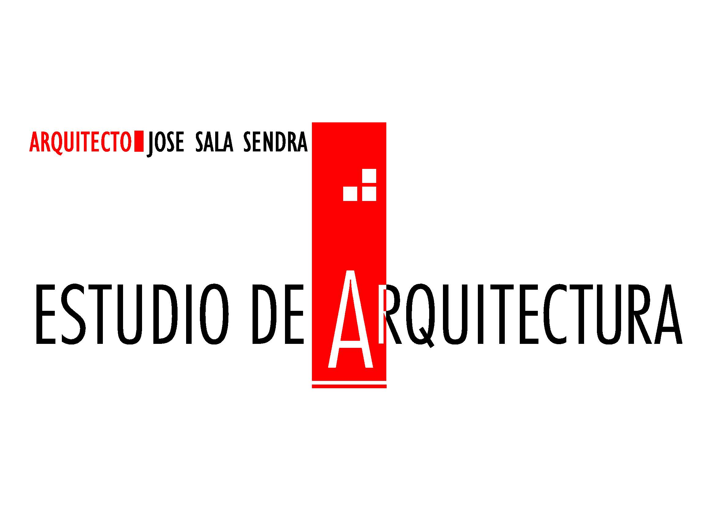 Proyectos de jose sala sendra slp profesional de la for Logo arquitectura tecnica